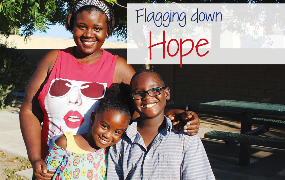 Flagging Down Hope