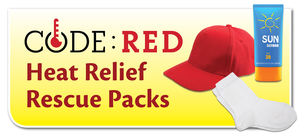Heat Relief Rescue Packs