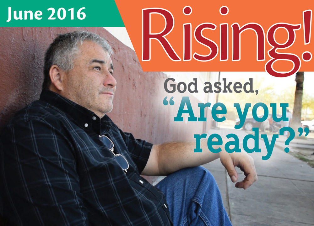 """God asked, """"Are you ready?"""""""